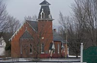 Anglican Church in The Most Beautiful Villages of Quebec